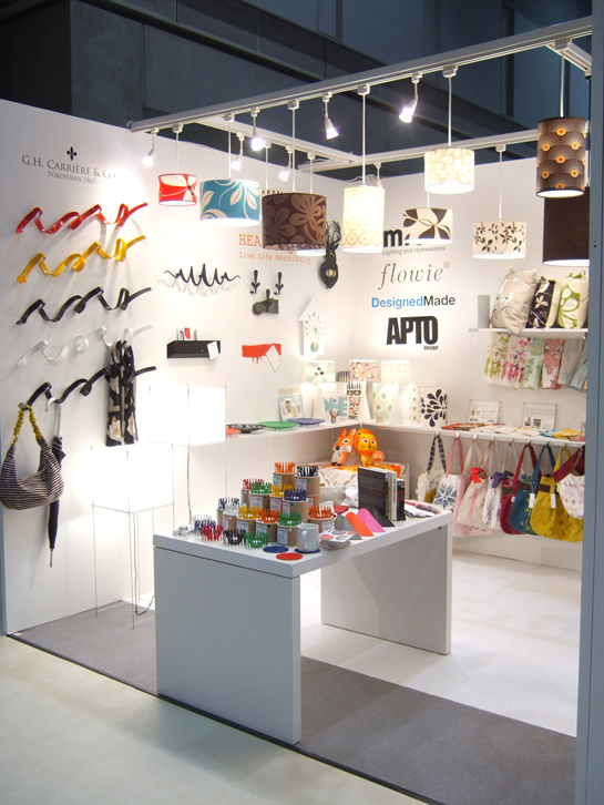 DesignedMade represented by G.H. Carriere & Co. 2011 Interior Lifestyle Tokyo