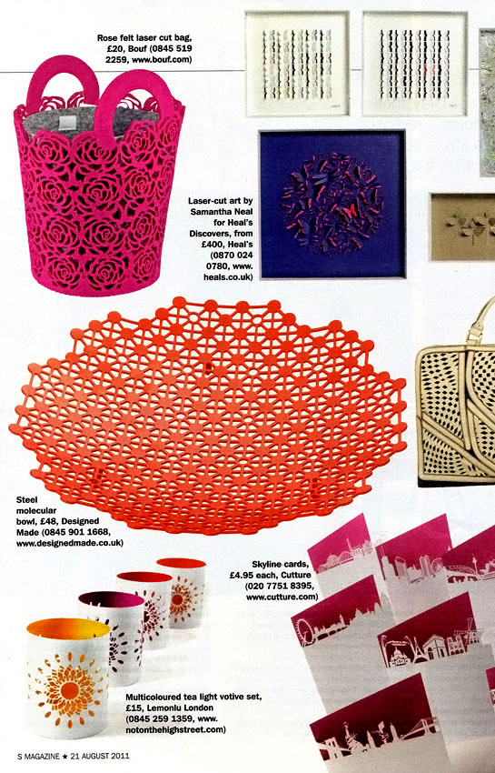 DesignedMade in S Magazine - August 2011
